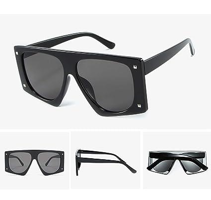 50f02e6957 Niusion Gafas de Sol polarizadas para Mujer Clásico Retro Estilo de diseño Gran  tamaño Irrompible Marco