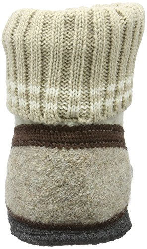 beige 35 Montants Oetz Beck Beige Adulte Chaussons Mixte 0qFnTqwxZY