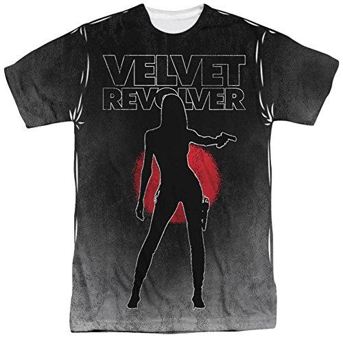 Velvet Revolver- Contraband T-Shirt Size - Tee Revolver Mens