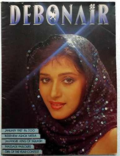 Debonair January 1987- Topless Sexy Glamorous Erotic Pics Indian Women – Men's Interest Magazine - Jahangir Khan Ashok Mitra Madhuri Dixit on cover page - Indian Men Pic