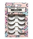 lashes HELLO BEAUTY Multipack Demi Wispies Fake Eyelashes