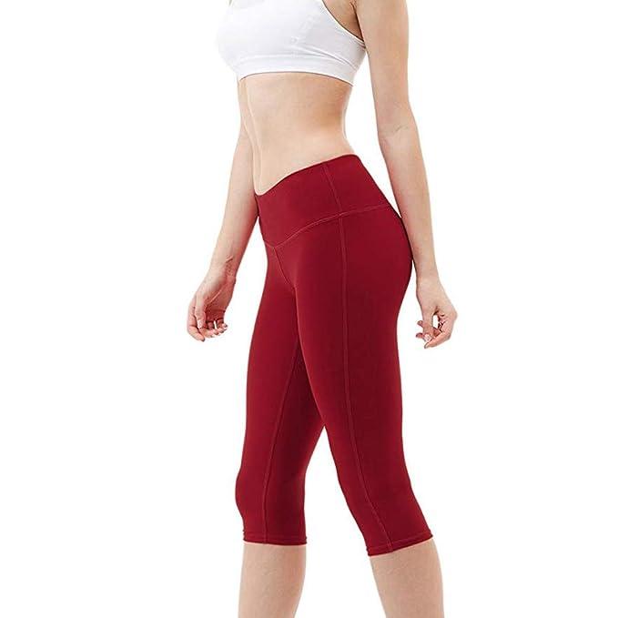 Pantalones Yoga Mujeres Pantalones Deportivos Mujer Mallas ...
