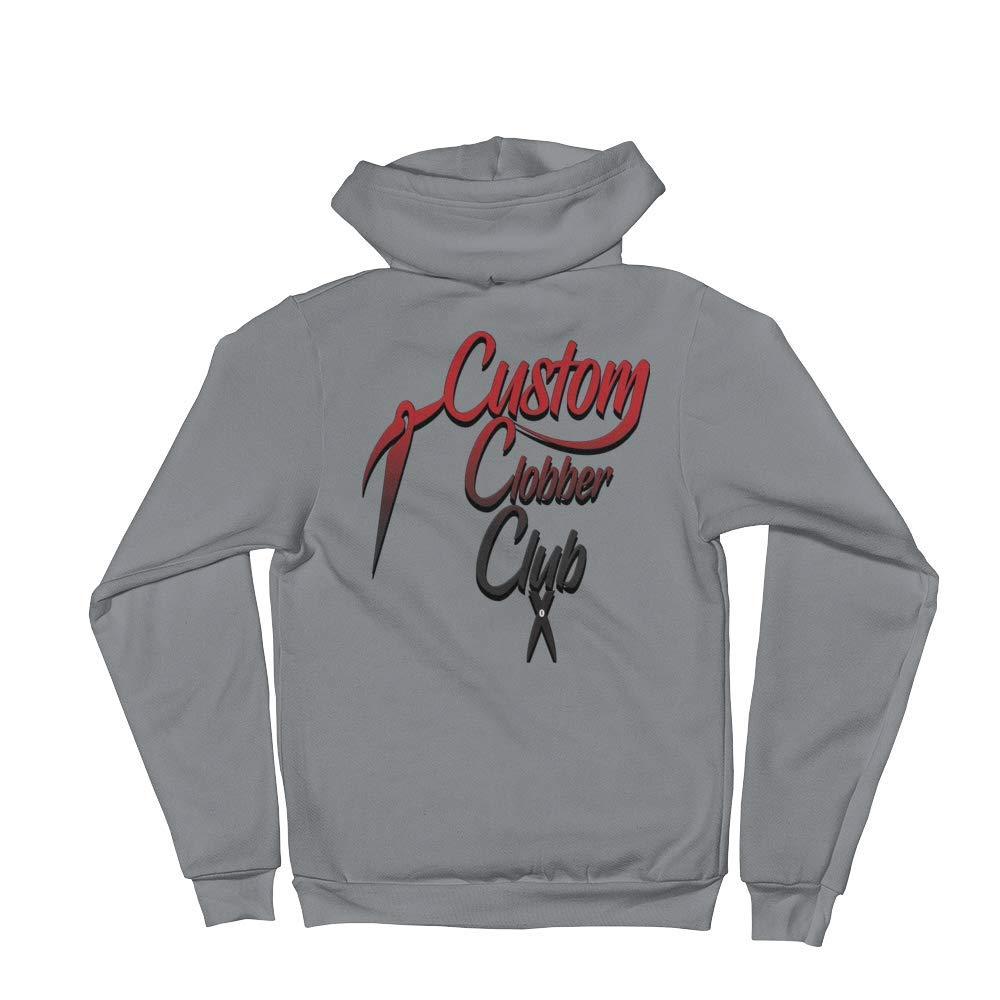 Custom Clobber Club Unisex Zip-Up Hoodie from Grad