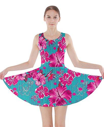 CowCow - Vestido - para mujer Mint Hawaii 2 XXX-Large