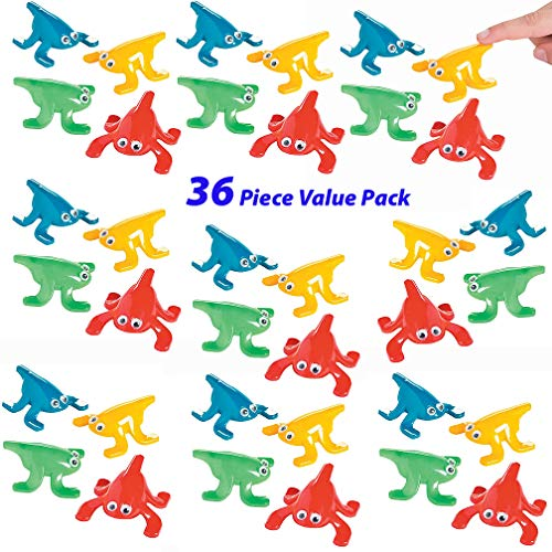 (Mr. E=mc2 36 Piece Set of Jumping Frogs | Leap Frog Party Favors Bulk for Birthday Parties and Celebrations | Novelty Gag Gifts and Toys, Inexpensive Goody Bag Fillers, Class)