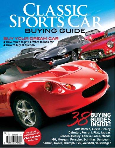 Classic Sportscar Buying Guide 9781906372163 Amazon Com Books