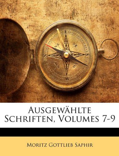 Download Ausgewählte Schriften, Volumes 7-9 (German Edition) pdf epub