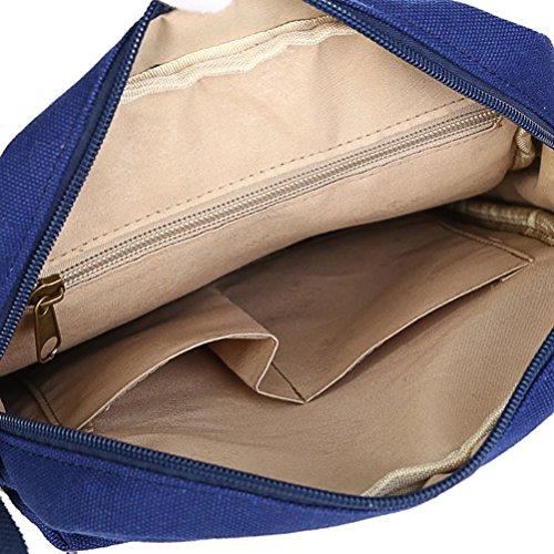 Keshi Leinwand Cool Damen Handtaschen, Hobo-Bags, Schultertaschen, Beutel, Beuteltaschen, Trend-Bags, Velours, Veloursleder, Wildleder, Tasche Mehrfarbig 13