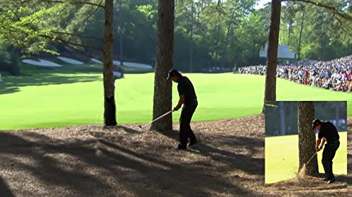 XXXL Poster Size Photo 20x30 Phil Mickelson Win 4th Masters Famous 13th Hole Shot from the Trees