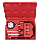 Agile-Shop Professional Petrol Gas Engine Cylinder Compression Tester Kit Automotive Gauge Tool