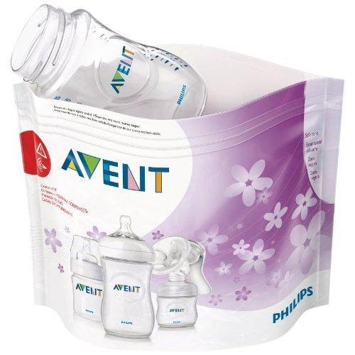 Philips Avent Microwave Steam Steriliser Bags (pack Of 5)