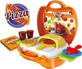 Toyhouse Kids Play Pizza Toys, Multi Color (22 Pieces)