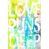 Marmont Hill Love Runs Deep Canvas Wall Art, 36 by 24-Inch
