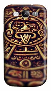 Mayan Clock PC Case Cover for Samsung Galaxy S3 I93003D