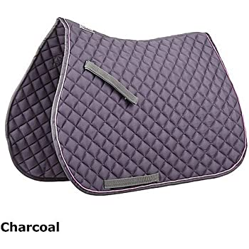 Roma Contrast Piping All Purpose Pad Charcoal