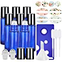 8 Pack Essential Oil Roller Bottles with Accessories
