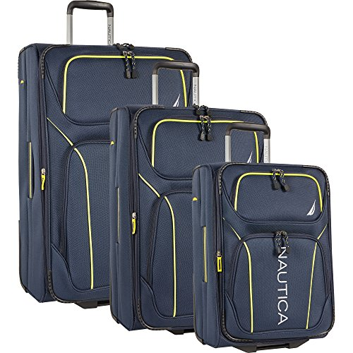 Price comparison product image Nautica Airdale 3 Piece Expandable Luggage Set