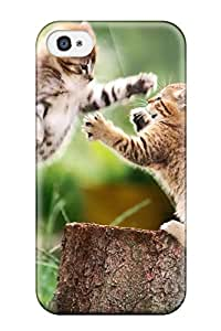 Lori Dykes Case Cover For Iphone 4/4s - Retailer Packaging Cat Protective Case