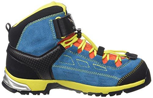 Salewa Unisex-Kinder Jr Alp Player Mid GTX Trekking-& Wanderstiefel Blau (Crystal/Citro 2412)