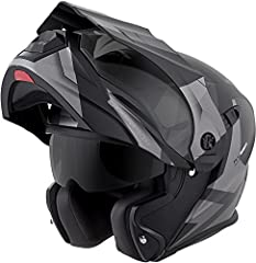 The EXO-AT950 can be used as a full face ADV helmet with external peak visor attached, or the peak visor can be removed and you have an aerodynamic touring helmet. Our oversized eye port is extremely wide for greater peripheral vision and dow...