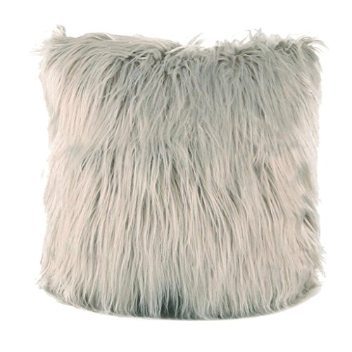 Fashion Plush Furry Cushion Cover Throw Pillow Case Home Bed Room Sofa Decor ()