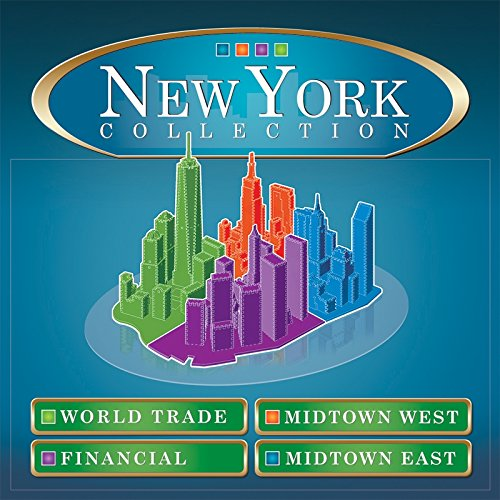 New York City Financial, 925 Piece 3D Jigsaw Puzzle Made by Wrebbit Puzz-3D W3D-2013
