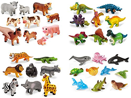 Lakeshore Soft & Squeezy Animals - Complete Set by Lakeshore Learning Materials
