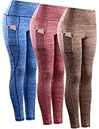 Women's Tummy Control High Waist Leggings with Pockets