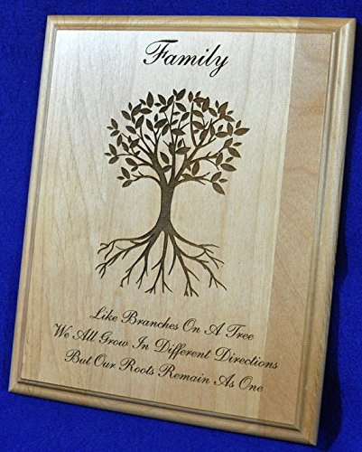Tree of Life Wall Art Canvas Tin Thank You To My Family Wedding Gift Wedding Day Parents Gifts Oak Tree Poem Paper In Law Gifts