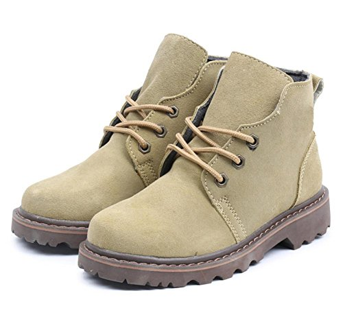 par de botas botas green beans botas de la primavera de mujer casuales Martin de Sra de aumento rg0rqU