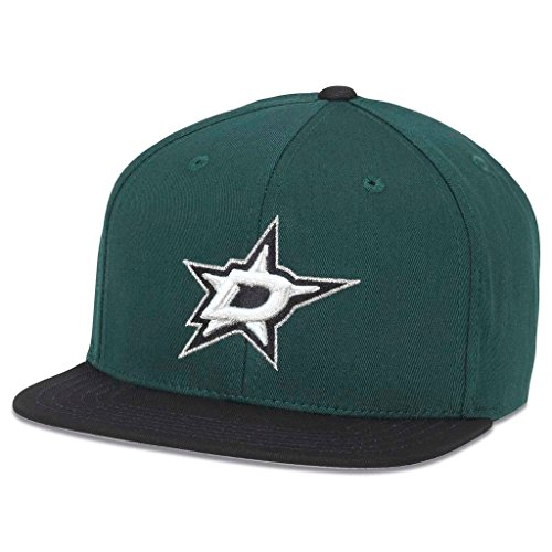 American Needle Outfield NHL Team Hat, Dallas Stars Dark Green/Black (41722A-DAS)