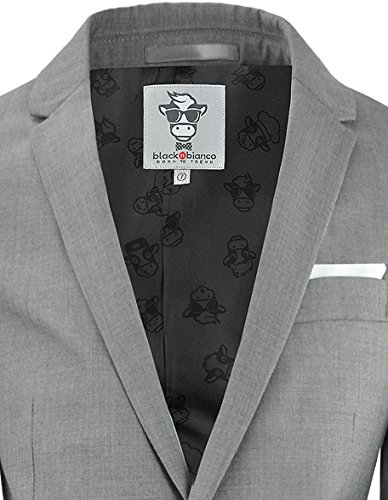 6df136d9f06a5e Black n Bianco Boys' First Class Slim Fit Suits Lightweight Style.  Presented by Baby