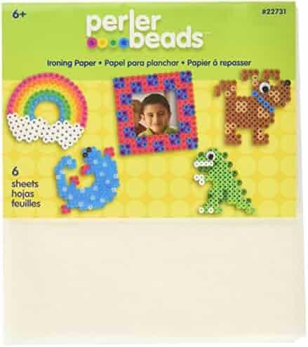 Perler Beads 22731 Fun Fusion Ironing Paper 6/Pkg-