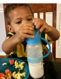 Eco-Friendly-BPA-Free-Baby-Bottle-With-Straw-and-Pink-Silicone-NippyLid-Patent-Pending-Slow-Flow-Nipple-Included-NEVER-LOSE-THE-LID-AGAIN