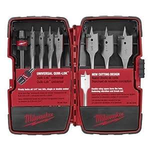 Milwaukee 49–22–0175Juego de Quik-Lok plano aburrido 8Universal, Modelo: 49–22–0175, Tools & hardware Store