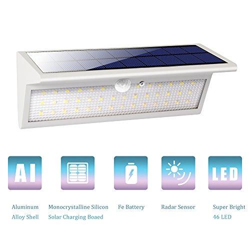 Solar Security Light White - 1