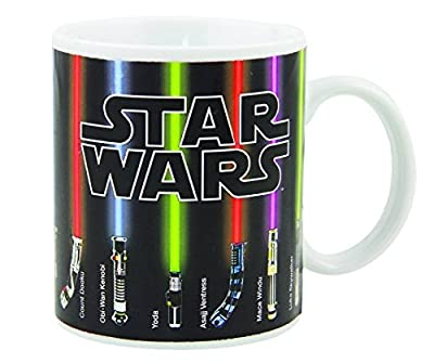 Star Wars Lightsaber Coffee Mug, The Force Awakens With Heat