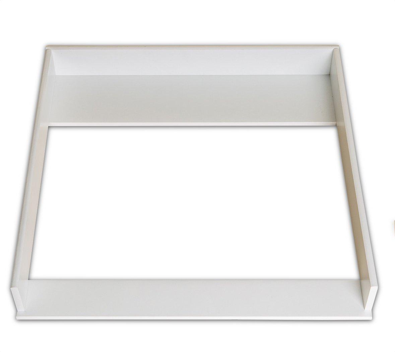 Plan à langer (blanc) pour Ikea Hemnes commode (SANS COMMODE) PuckDaddy