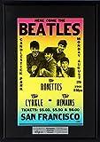The Beatles @ Candlestick Park Concert Poster (SGA Signature Series) Framed