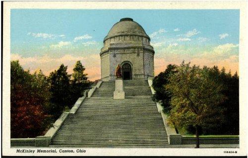 Photo Reprint McKinley Memorial, Canton, - Ohio Canton Mckinley Memorial