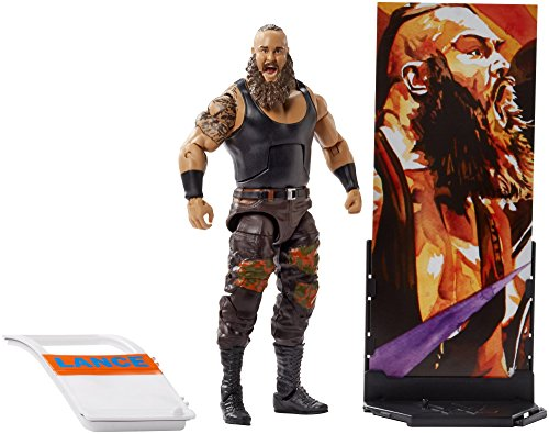 Wrestling Action Figure Series (WWE Elite Collection Series # 58 Braun Strowman Action Figure)