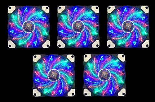 APEVIA AF512L S4C Multicolor Silent Anti Vibration product image