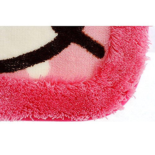 Hello Kitty Bath Mat Rug Bathroom Floor Non-Slip (Pink) by Hello Kitty (Image #5)