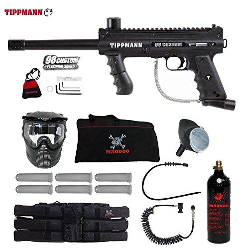 Player Paintball Gun Package (Tippmann 98 Custom Corporal Paintball Gun Package - Black)