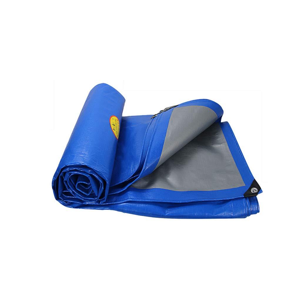 Abdeckplane LITING Regenfestes Tuch Einfache Blaue Dicke Wasserdichte Sonnencreme staubdichtes Plastiktuch (größe   3  3m)