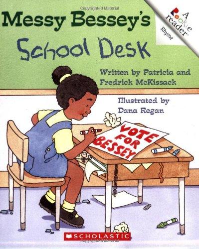 Books : Messy Bessey's School Desk (Rookie Readers)