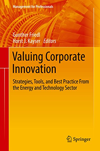 Valuing Corporate Innovation: Strategies, Tools, and Best Practice From the Energy and Technology Sector (Management for Professionals)