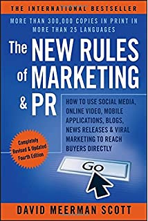 the new rules of marketing and pr how to use social media blogs