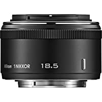 Nikon 1 NIKKOR 18.5mm f/1.8 Lens (Black)(Certified Refurbished)