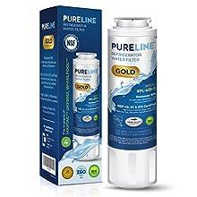 PURELINE GOLD UKF8001 Water Filter Replacement. Compatible Filter Models: UKF8001,UKF8001AXX-750, UKF8001AXX-200, EveryDrop Filter 4, EDR4RXD1, PUR 4396395, HDX FMM-2
